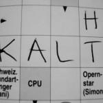 Kreuzwort-Rätsel