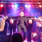 Rocknacht Magden 2004 - Dani Kalt & Band beim Schlussapplaus